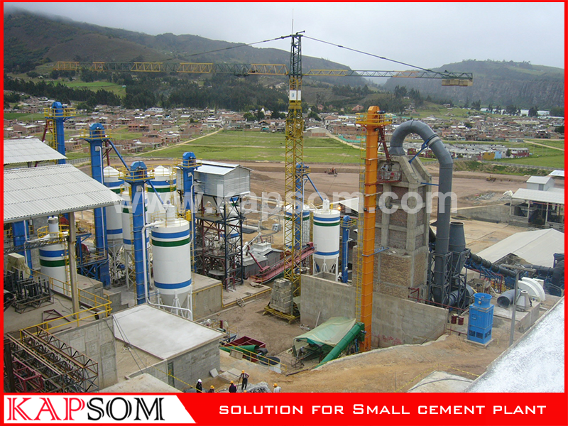 Cement Plant Project in Columbia