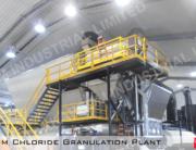 Calcium Chloride Granulation Plant that KAPSOM supplied.